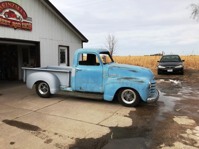 Heinzman Street Rods 1940 Ford project for sale